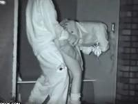 ヤンキーがギャル女子校生と青姦してたので暗視カメラで盗撮