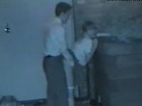 サラリーマンと女子校生の援交現場を盗撮