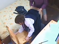 思春期の清純な女学生を盗撮しながら性行為を強要する家庭教師