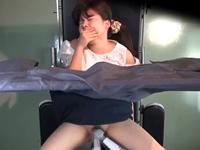 町内の人妻の股間は全部盗撮済みの産婦人科医師が性感帯刺激と男根挿入に挑戦