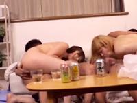 街コンと宅飲みで酔っ払ったギャル二人組と乱交セックスで盛り上がってみた