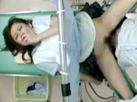 彼氏持ちの女子校生を診察室で痴漢レイプする産婦人科医師