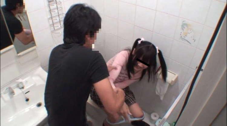 トイレで妹をハメる兄2